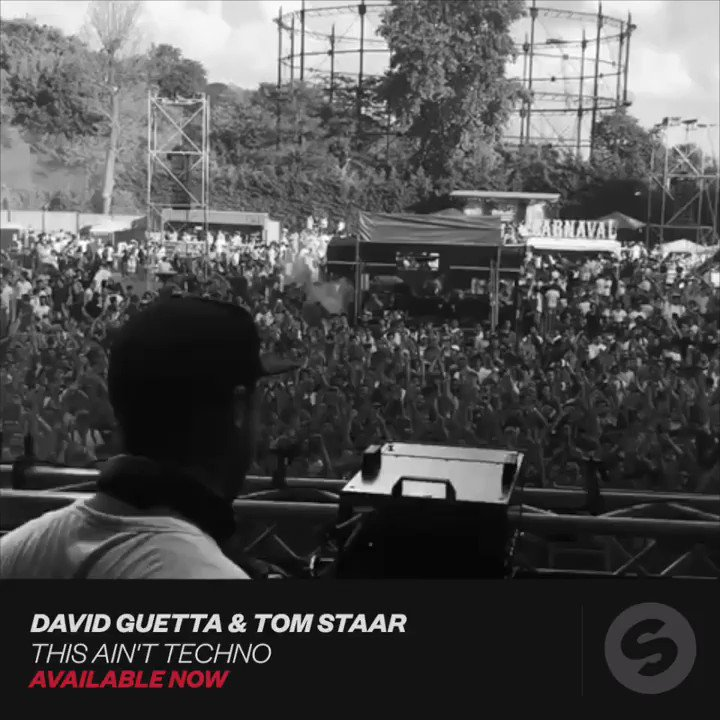 RT @SpinninRecords: . @davidguetta & @TomStaar's 'This Ain't Techno' gets us hypnotized! https://t.co/Ca3v6z1plD