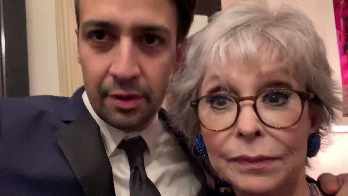 RT @Lin_Manuel: Well look who I ran into... @TheRitaMoreno  #SaveODAAT https://t.co/vGGMPburPM