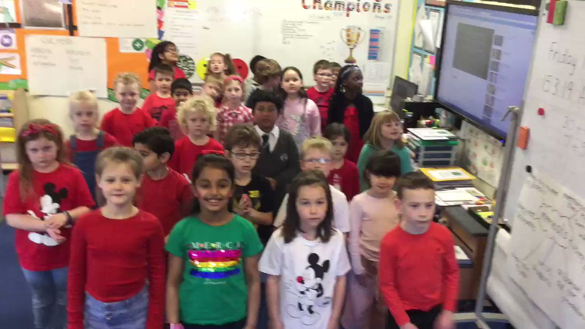 RT @MarklandHill: #comicrelief2019 Who do Oak Class think they Are? Superstars!!! ???????????? https://t.co/tyNTw2jcXG