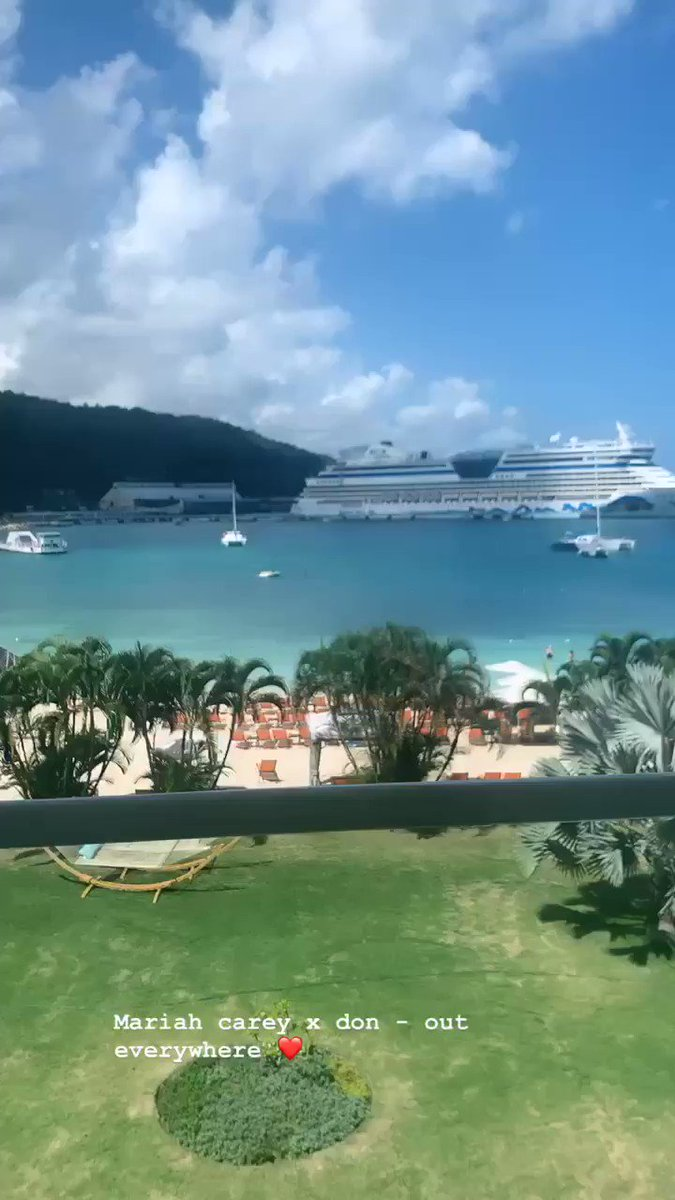 RT @stefflondon: In JAMAICA ???????? currently listening to mariah Carey featuring me ????????????❤️  #NoNo https://t.co/XWiZIjX4Lj