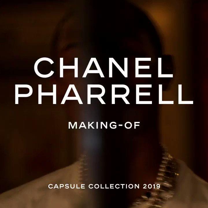 See it. Believe it. Receive it. #CHANELPHARRELL @CHANEL #ad https://t.co/AS86jXqu12