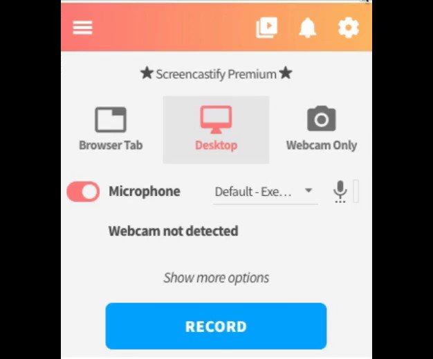 The process for sharing your screen in Desktop recordings has changed slightly across Chrome 🔀  Your 💻 isn't broken, you'll just need to click the mini-version of your screen to enable the share button ☑️ https://t.co/J4aEv6in2Q