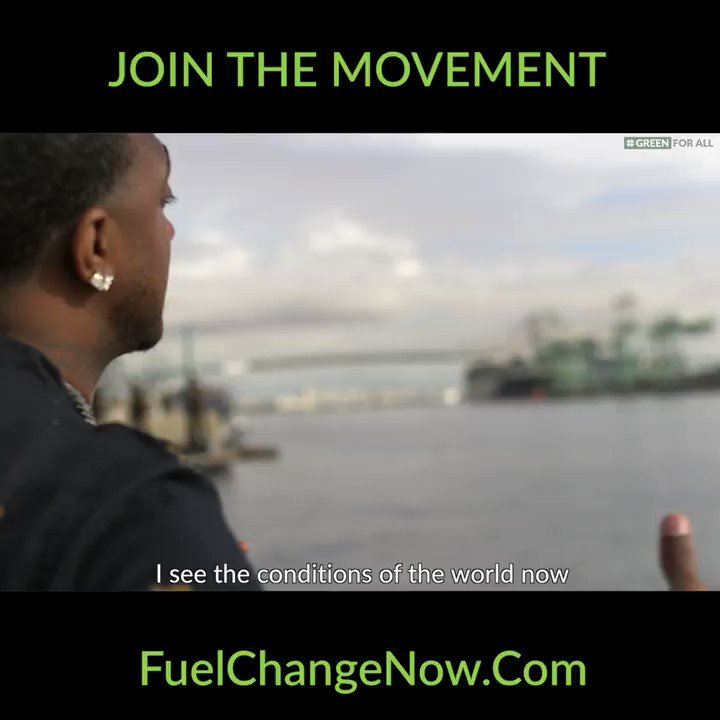 RT @GreenForAll: Mobilize a movement. Electrify the nation. #fuelchange https://t.co/odGcD54rOM https://t.co/eig5WGzLZb