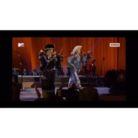 Me and Madonna jamming to my daddy's #1 song OTR! @LilNasX @billyraycyrus https://t.co/FE4oiCrrmB