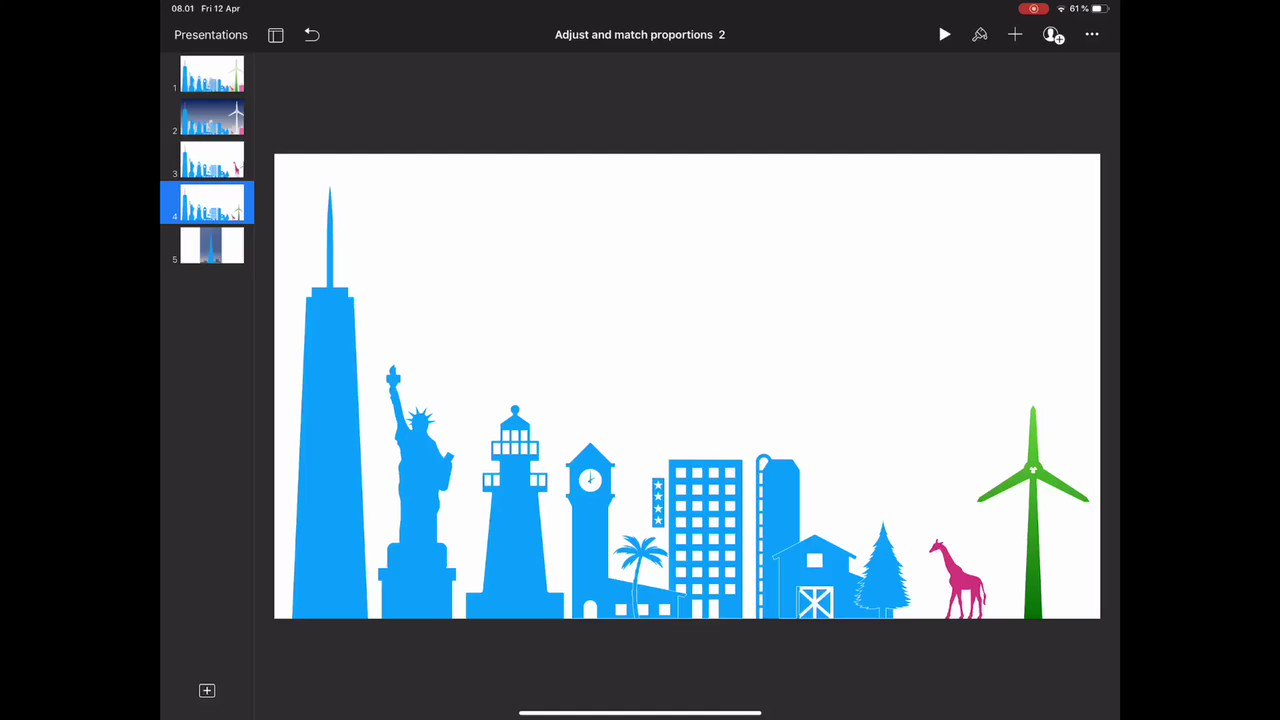 @MrAndiPrice @joedale Okay. Now with Burjkhalifa and resized slide dimensions.  But a giraffe 🦒 that big ... would be really scary 😱  #burjkhalifa #keynoteworkshop? #EveryoneCanCreate https://t.co/mFaKWbTQUT