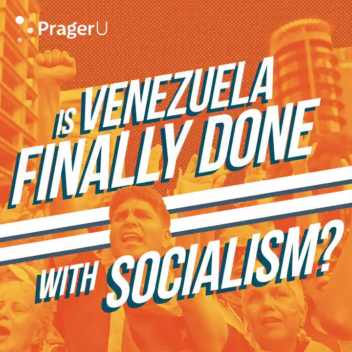 Venezuela is waking up to the fact: Socialism NEVER works!