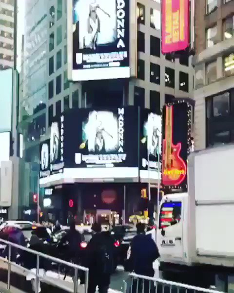 Madame ❌ had her own Met Gala! ???????? in Times Square.............She Travels the World! But She ♥️'s NY!???? https://t.co/yM9Rlfuk9x