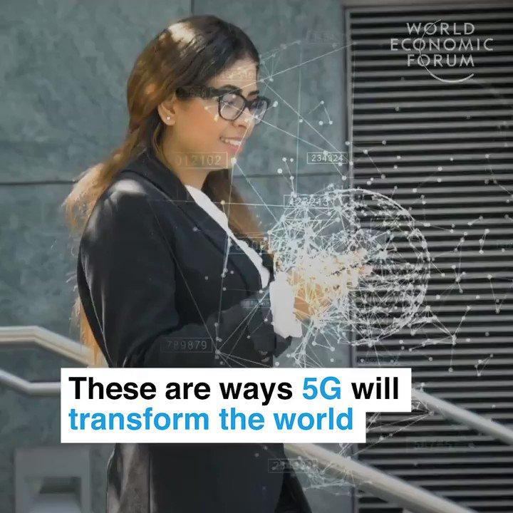 6 ways #5G mobile #broadband will transform the world @wef #AI #MachineLearning #IoT #Robotics #Automation #IIoT #4IR #Robots #AR #VR   ht @MikeQuindazzi    @SpirosMargaris @andi_staub @YuHelenYu @antgrasso @jblefevre60 @albertogaruccio @DeepLearn007