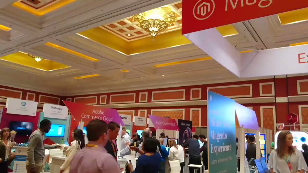 richbaik: The Marketplace is open! Come on down. #MagentoImagine @magento https://t.co/duVLvgcXId