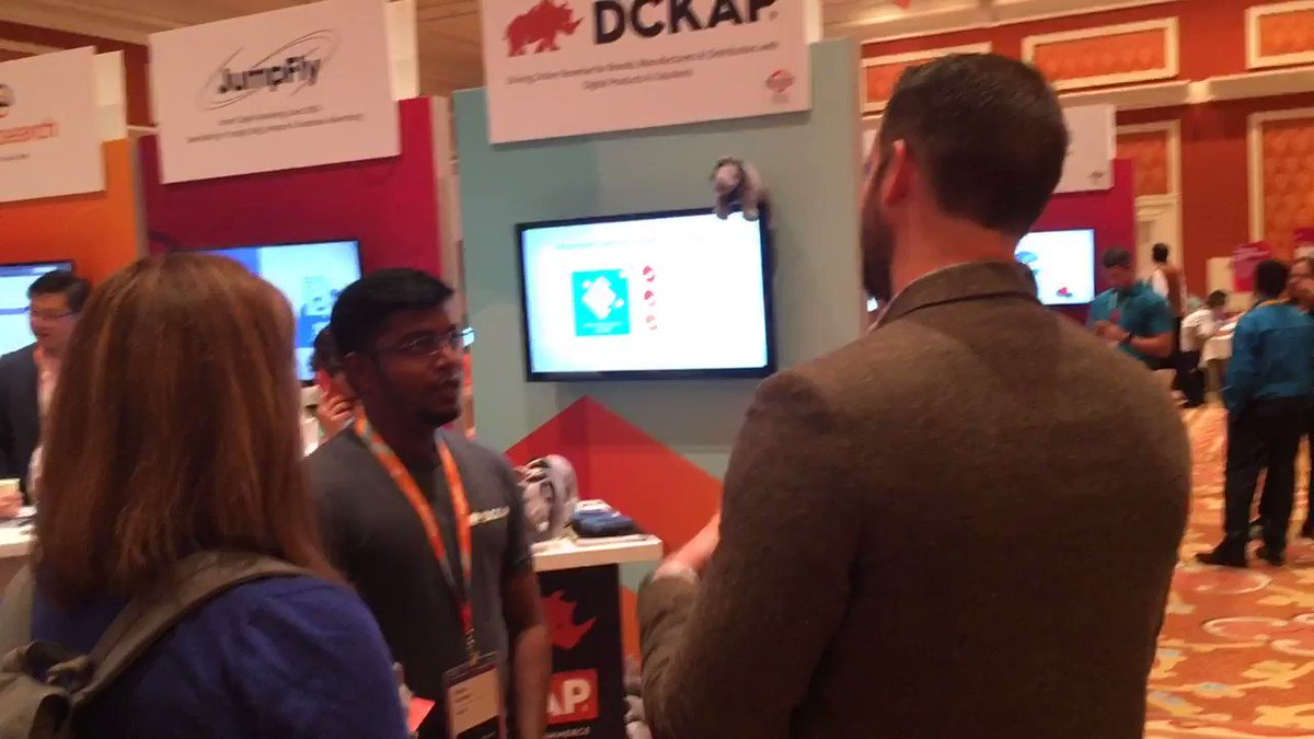 DCKAP: Stop by our booth and interact with our solution specialist at Booth 700 at sponsors marketplace #MagentoImagine https://t.co/jVwSWqUexh