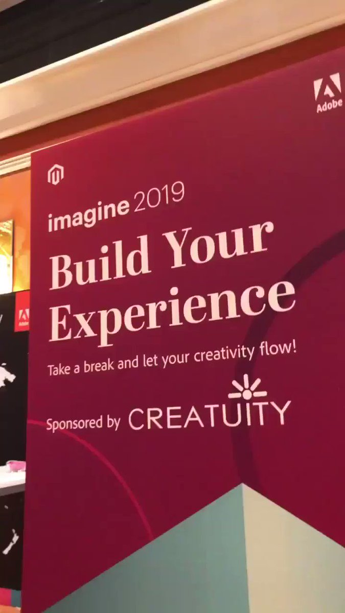 sherrierohde: Play with legos at the @Creatuity wall - you know you want to! #MagentoImagine https://t.co/JPReqUxRxU