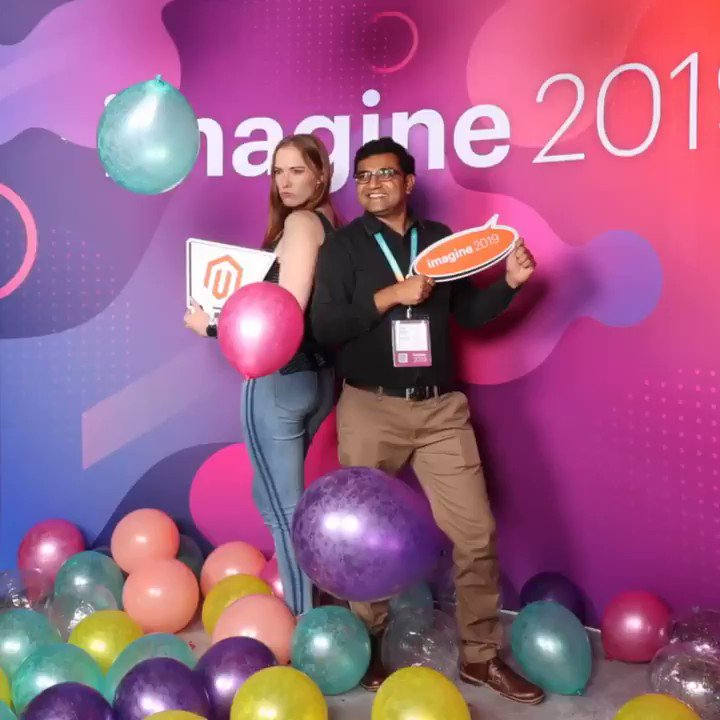 Vijaygolani: Have you tried 4D photo booth at #MagentoImagine ?@maddie3013 https://t.co/H8fFBXFCRV