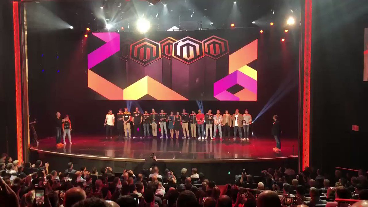vaimoglobal: Here come the 2019 Magento Masters!!! #MagentoImagine https://t.co/SJIGIUDXn3