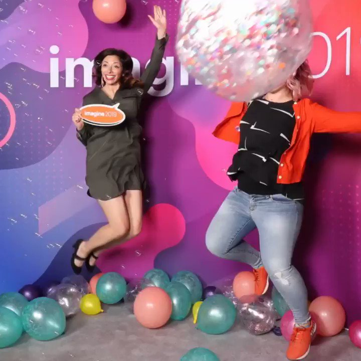 sherrierohde: You can shut down this booth now, @amandaf_batista and I just slayed it! 🔥 #MagentoImagine https://t.co/wMpr7Q86qK
