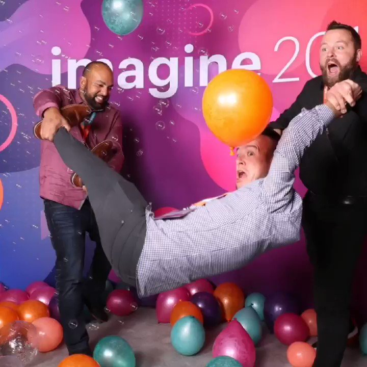 namjesnik_: So much love for the @imgmage team who made #MagentoImagine go from WORK WORK WORK WORK WORK WORK to this. https://t.co/HtdWC0H7pD