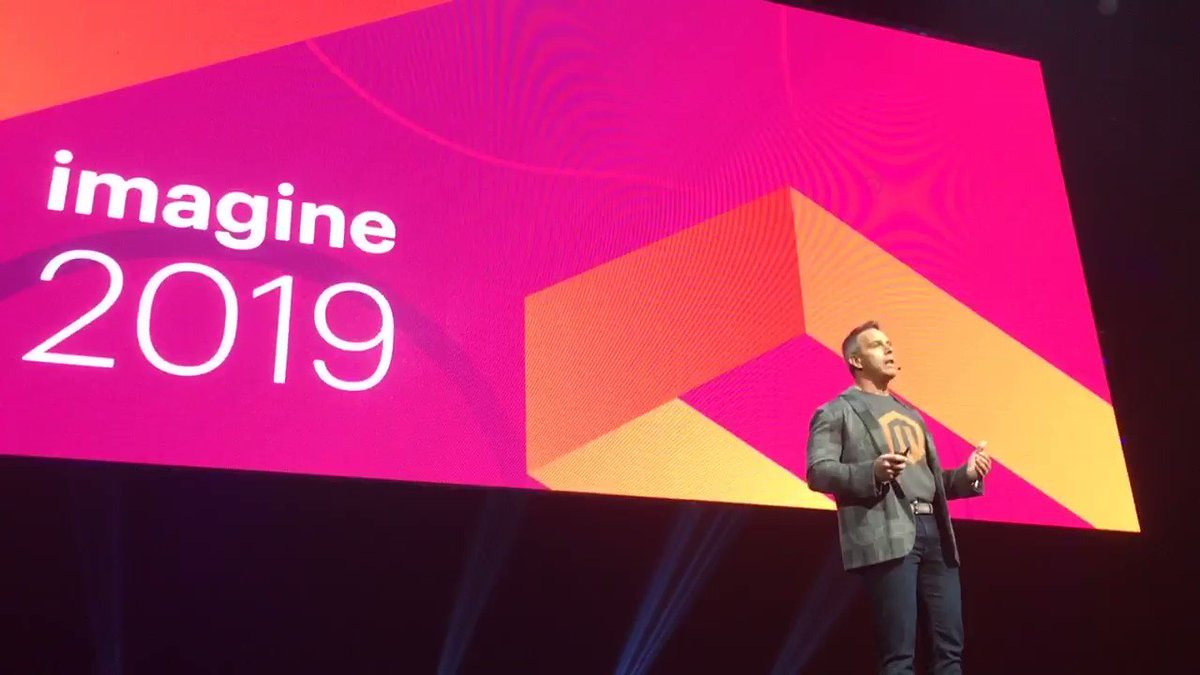 blackbooker: Adobe is absolutely going to KEEP THIS GATHERING TOGETHER!!! #MagentoImagine https://t.co/0rNHimtzdx