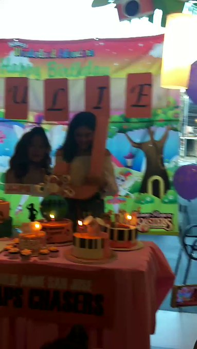 Happy 25th Birthday  JULIE ANNE SAN JOSE... Now you can blow the candles!