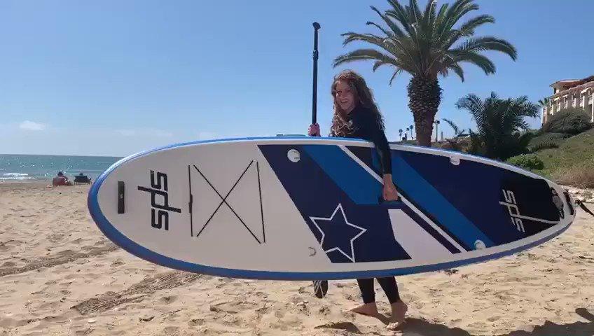 Today, Paddle surf! Hoy, Paddle Surf!  Shak https://t.co/7abXi2uOPn