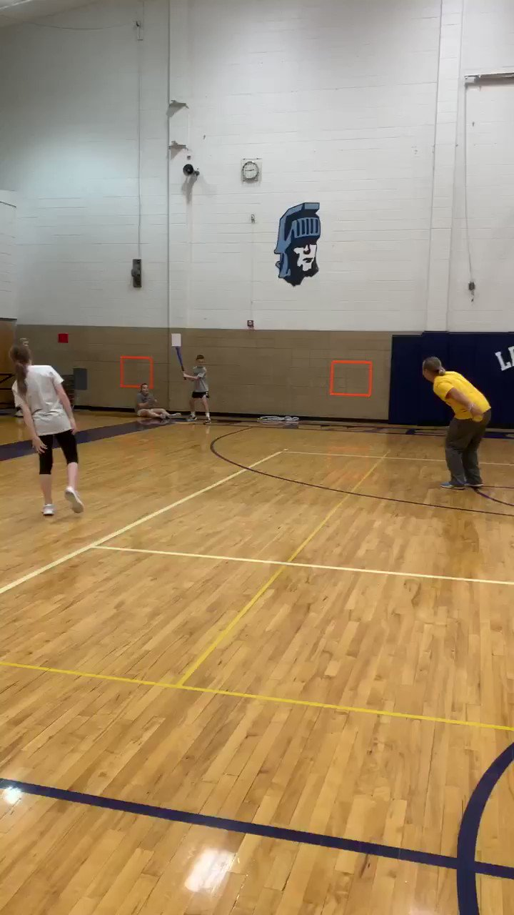 Wiffle ball In PE today #LCMSPTB https://t.co/NMFrZCz12R