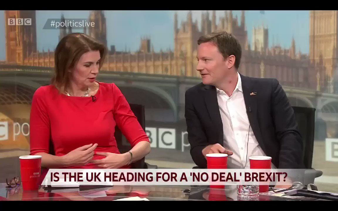 Andrea Jenkyns thinks that trading with the EU solely on WTO terms will be a great thing. She can't name which other countries do this though. The list is: Cuba, Venezuela, Belarus, Kazakhstan, Russia North Korea...
