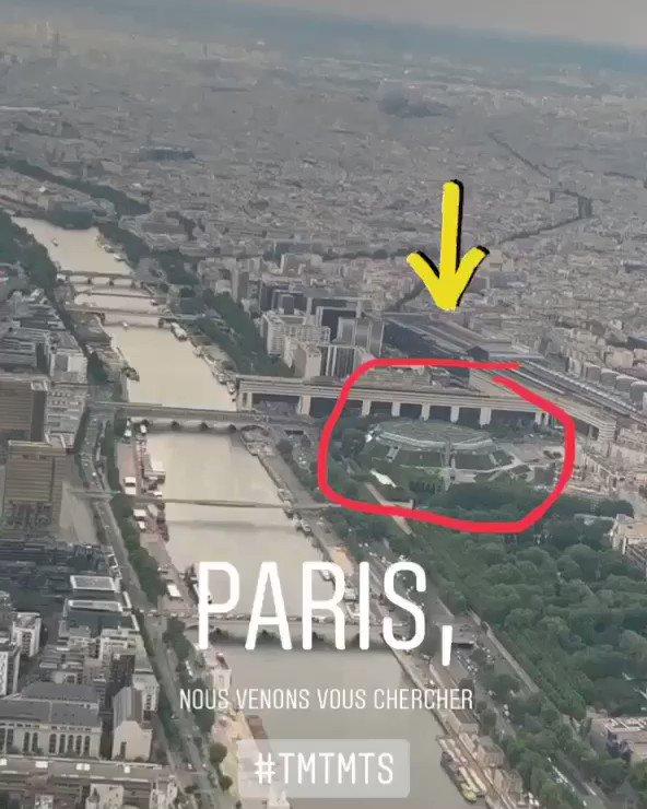 Prochain arrêt Paris #TMTMTS https://t.co/iK6pskt6LG