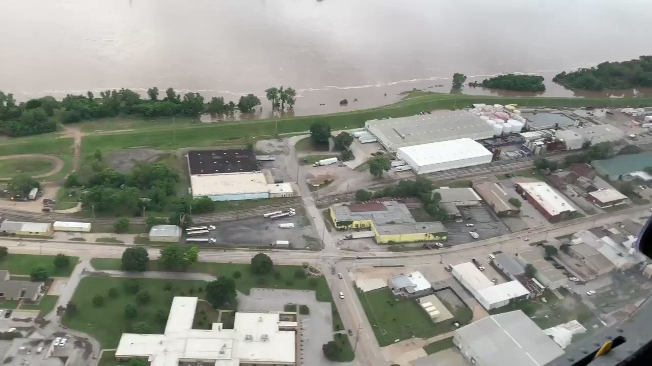 Our levee system in Tulsa is working like it is supposed to. https://t.co/C4fq7sFrbC