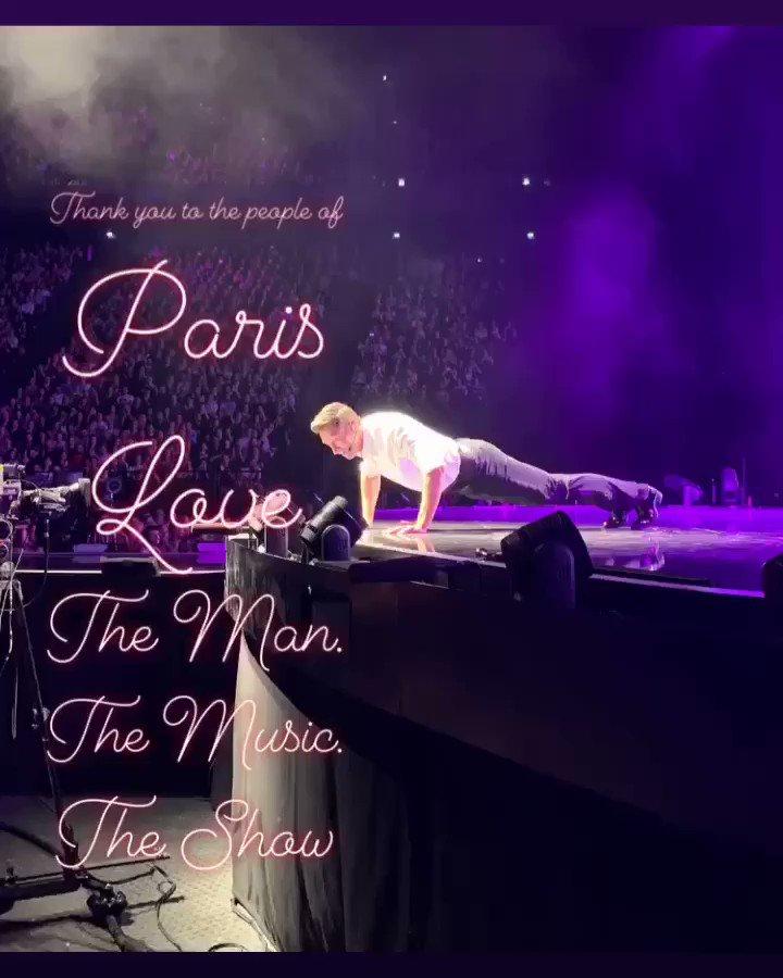 Paris ... passe une bonne soirée. #TheManTheMusicTheShow https://t.co/Tm4YwVvsxr
