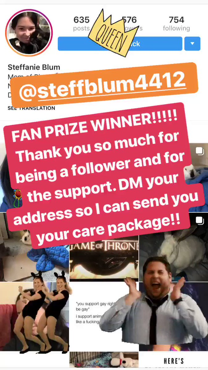 Congratulations IG prize winner!!!  Check out my Facebook for more fun contests. ❤️ #fanzants https://t.co/zZxEH1tEaa