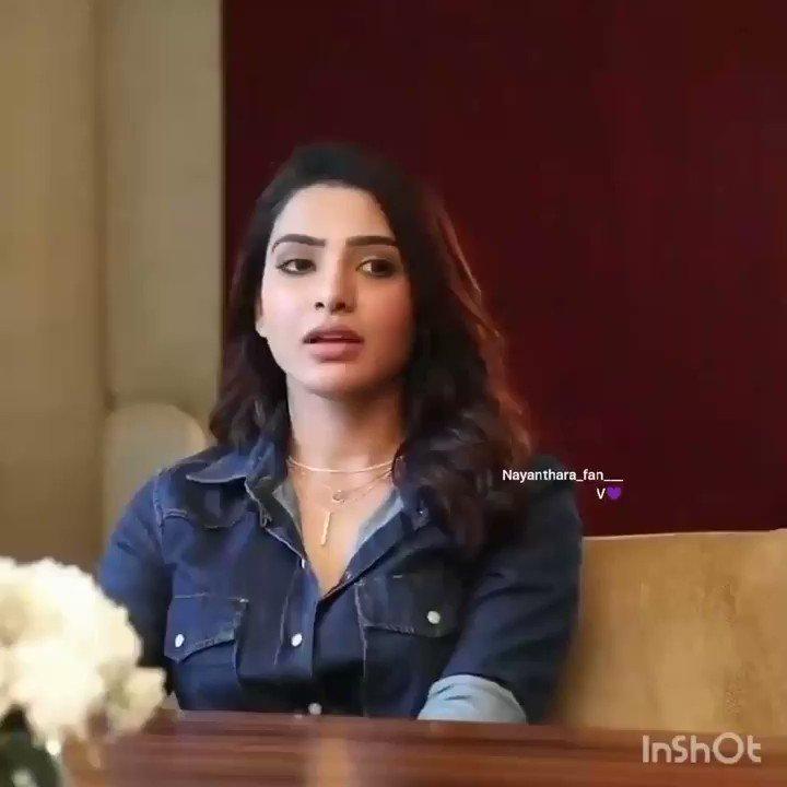If one heroine grows all of us grow -  @Samanthaprabhu2 ❤   #Nayanthara #LadySuperstar #KaathuVaakulaRenduKaadhal  #Samantha #SamanthaAkkineni
