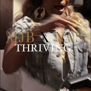 "MJB x @Nas ""Thriving"" vertical video is live now on @Spotify https://t.co/YqxM2TeMqt"