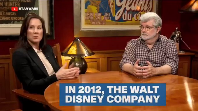 Happy Birthday to the ultimate boss lady, Kathleen Kennedy Full video on ET Live: