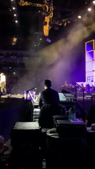 Spotlight on you, brother. @TaronEgerton @rocketmanmovie #TheManTheMusicTheShow #London https://t.co/7DvYdySjgC