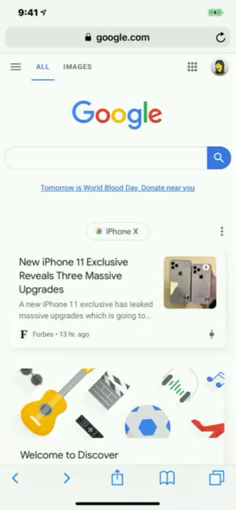Google just recently added Augmented Reality as well as 360 degree views to their image searches. Now, when you search for an item scroll past the images to see if there is an option to view it in 3D. Mainly animal searches are supported right now. https://t.co/IZDf894cBD