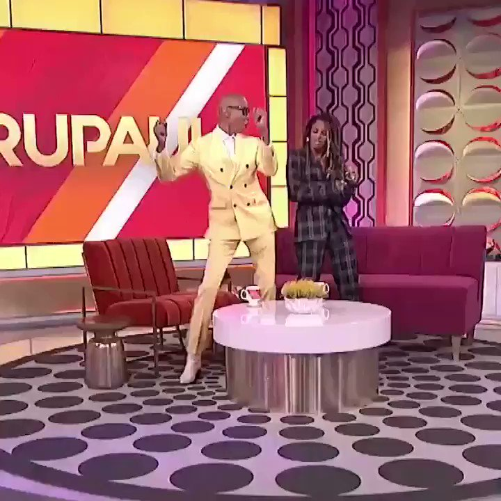 It's always a blast with you @RuPaul! Tune in today! Let's get it ???????? https://t.co/iOQZOt8BBH