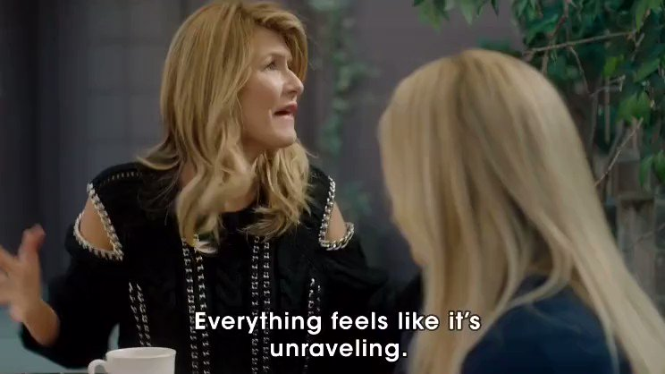 When someone takes the last cupcake????♀️ @lauradern #BLL2 https://t.co/v1aG39raw4