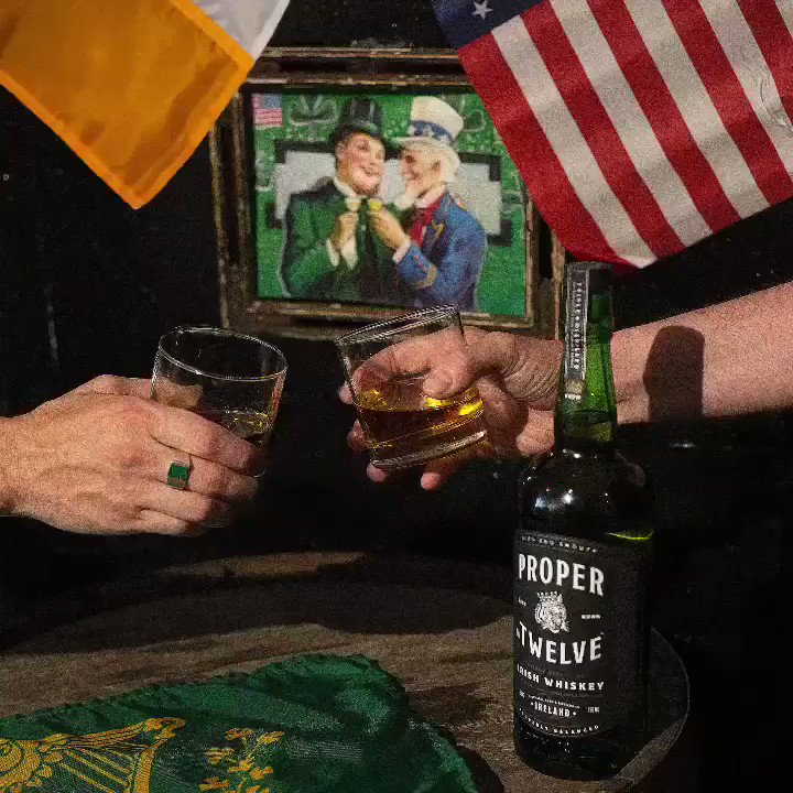 RT @ProperWhiskey: America - Happy Independence Day from your Proper Irish mates ????????????????#OneForAll https://t.co/7jDN13sm2A