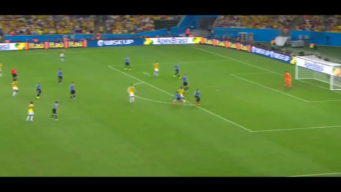 Happy birthday James Rodriguez Throwback to THAT goal he scored against Uruguay in the 2014 World Cup