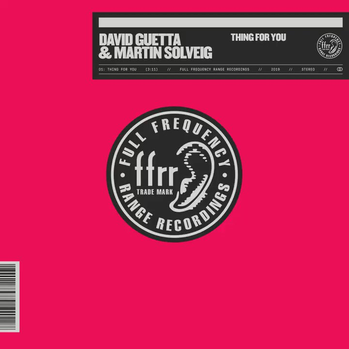 My first collab' with @martinsolveig is OUT NOW on @FFRRecords  #ThingForYou Check it out https://t.co/dzXyUPguBN https://t.co/XaZSUVyDec