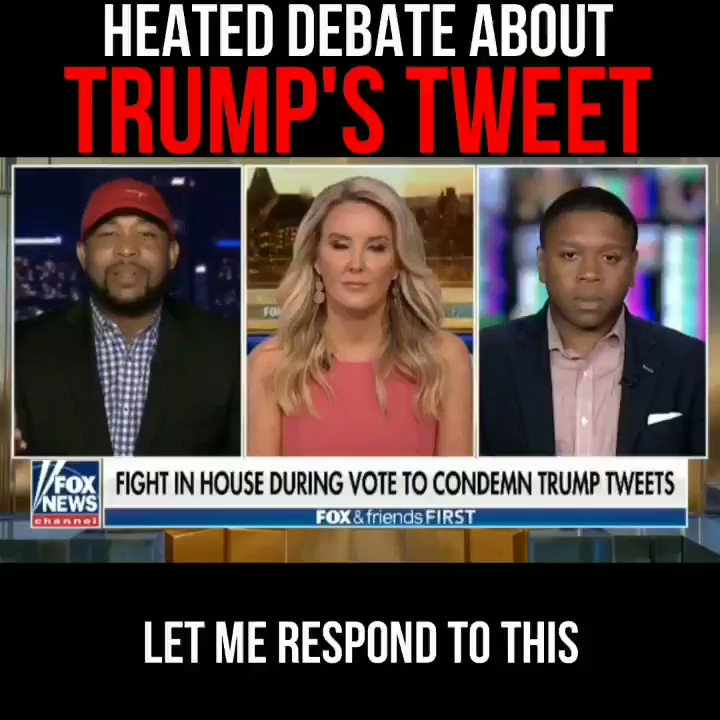 I had to serve this Liberal on @foxfriendsfirst.  When facing facts, all he could do was call me a sellout. How Lame??   FULL VIDEO   #trumptweets #FoxNews #LiberalTears #debate