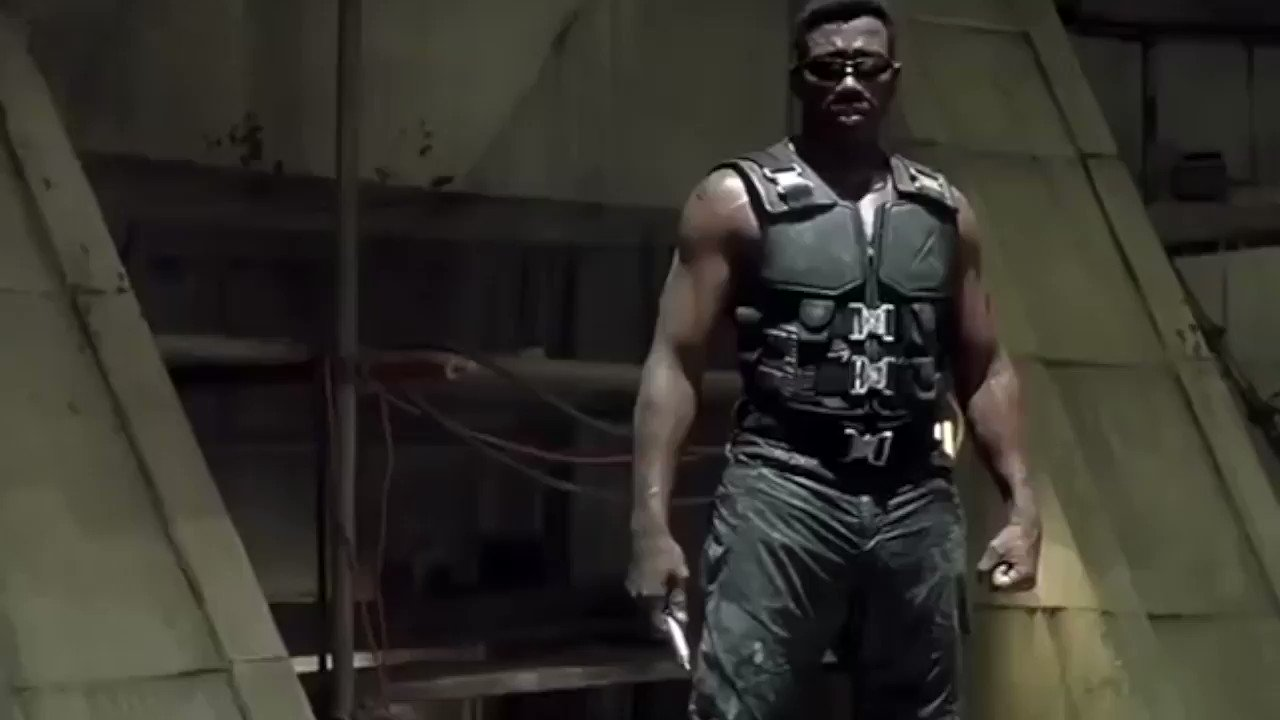"""""""VAMPIRE BREAKING NEWS!""""   Message from THE DAYWALKER...   Hey MCU, Haven't we been down this road before?  Aye yah, some motherfuckers are always trying to ice skate uphill …hahaha.""""  😁😁  #daywalkerklique https://t.co/d7XPXr66aQ"""