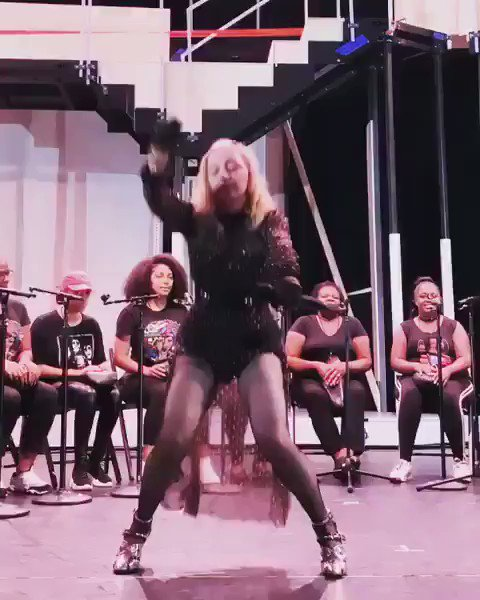 Batuka gives Madame ❌. Life! ????????????♥️ #madamex #rehearsals https://t.co/4zjK0u8tCd