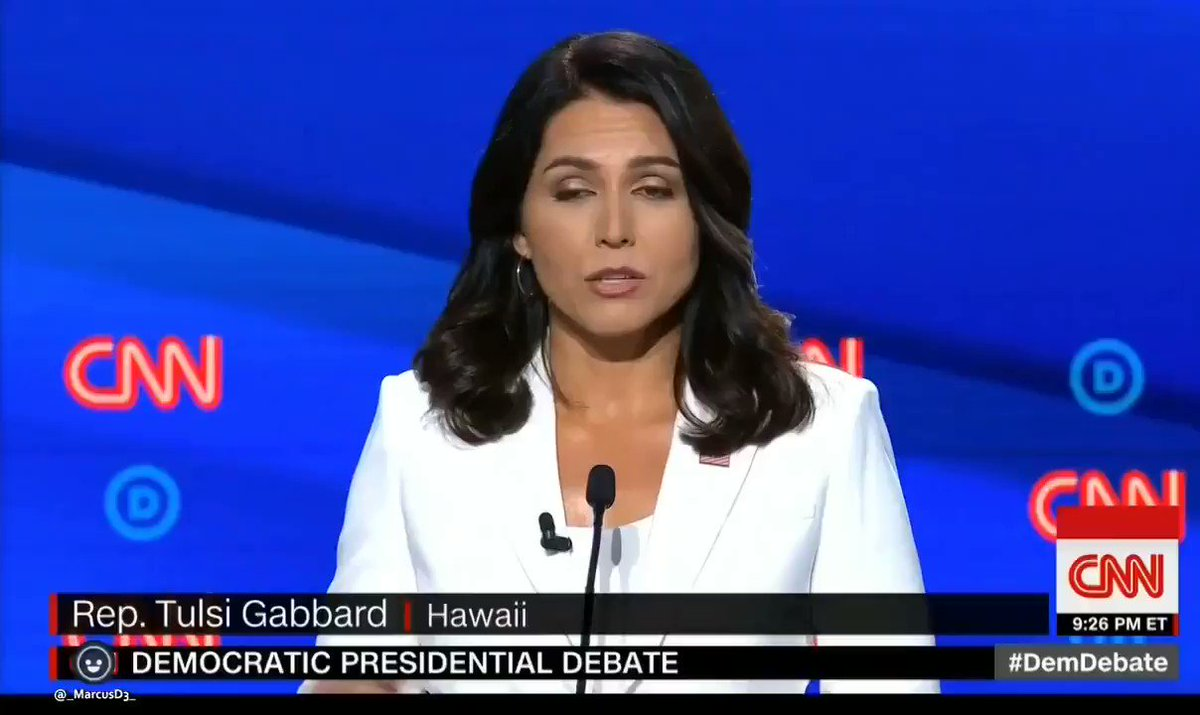 Remember when @TulsiGabbard DESTROYED @KamalaHarris in the #DemDebates? I bet the voting public does.