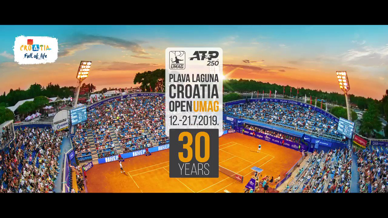 From jet ski to esports! In Umag players spend unforgettable moments even out of the tennis courts. #atpumag #30atpumag https://t.co/bqxGkor9DA