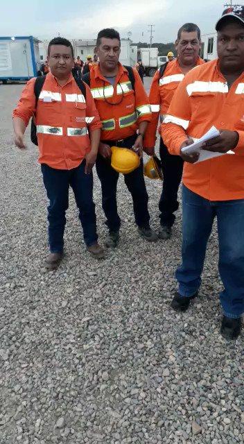 Los mineros dándole el respaldo a @petrogustavo...  Al narcoparamilitar le ofendió nuestra victoria popular
