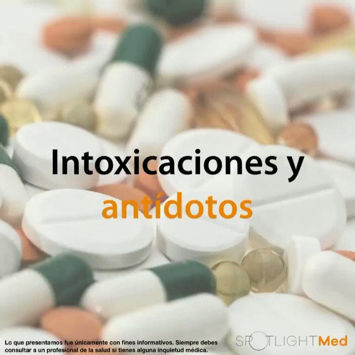 #Intoxicaciones y #Antídotos Otra Didáctica Animación de SpotlighMed!!! Compártela!!!