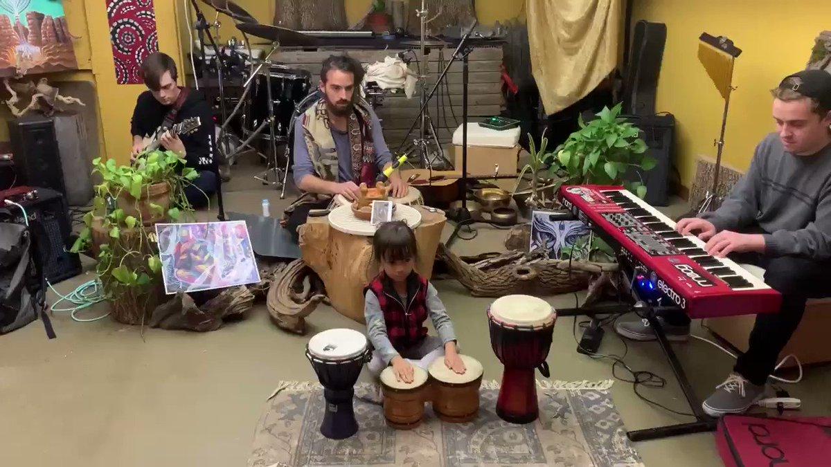 My little drummer girl 😽