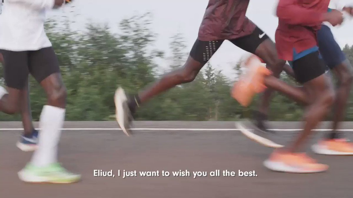 All the best ! Go @EliudKipchoge #INEOS159 #NoHumanIsLimited @INEOS159
