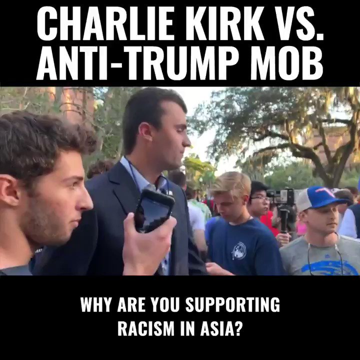 Don't let the mob take over America  Get the facts you need to push back  Click here to subscribe to The Charlie Kirk Show TODAY: