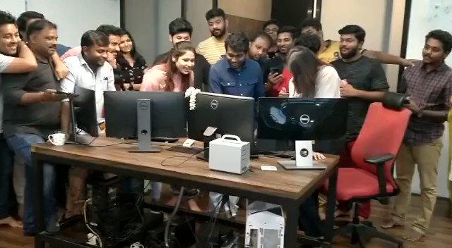 #BigilTrailer  Release Time 🤗🔥💪💥💪 @archanakalpathi @Atlee_dir   @actorvijay 🔥🔥🔥