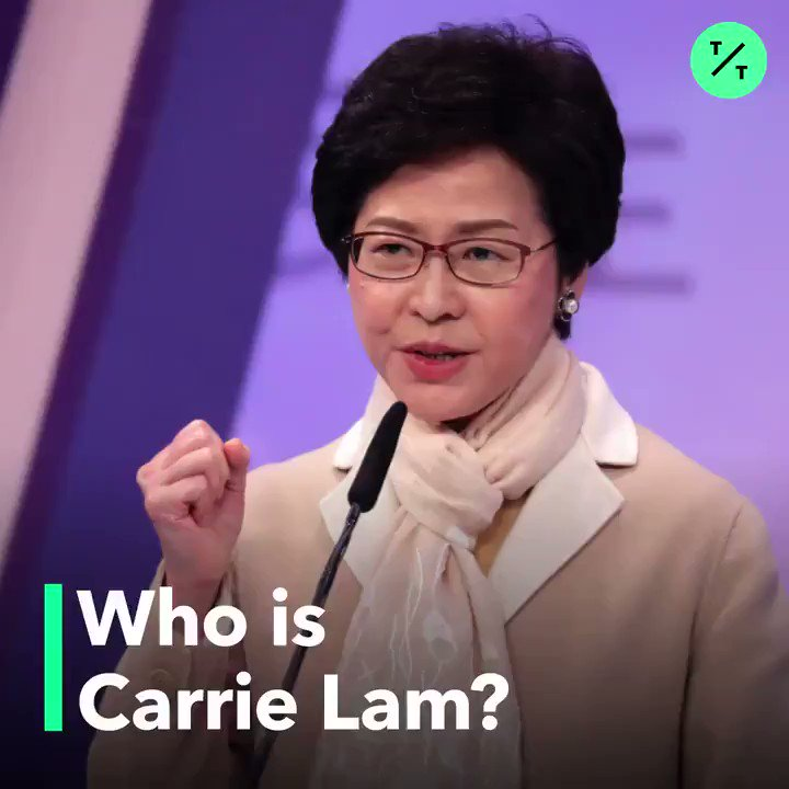 @business @ClaudiaMCMo Who is Hong Kong Chief Executive Carrie Lam?   We take a look back #HongKongProtests #香港 https://t.co/PGaEsHMTEB